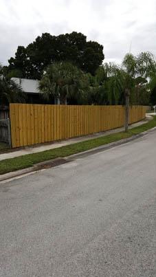 wood fence installation west palm beach